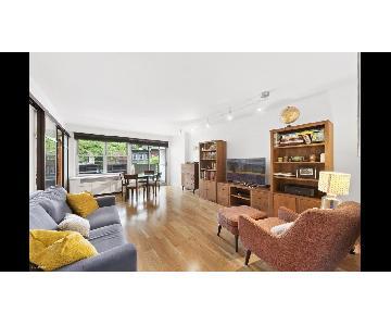 Room & Board Woodwind Bookcases in Walnut
