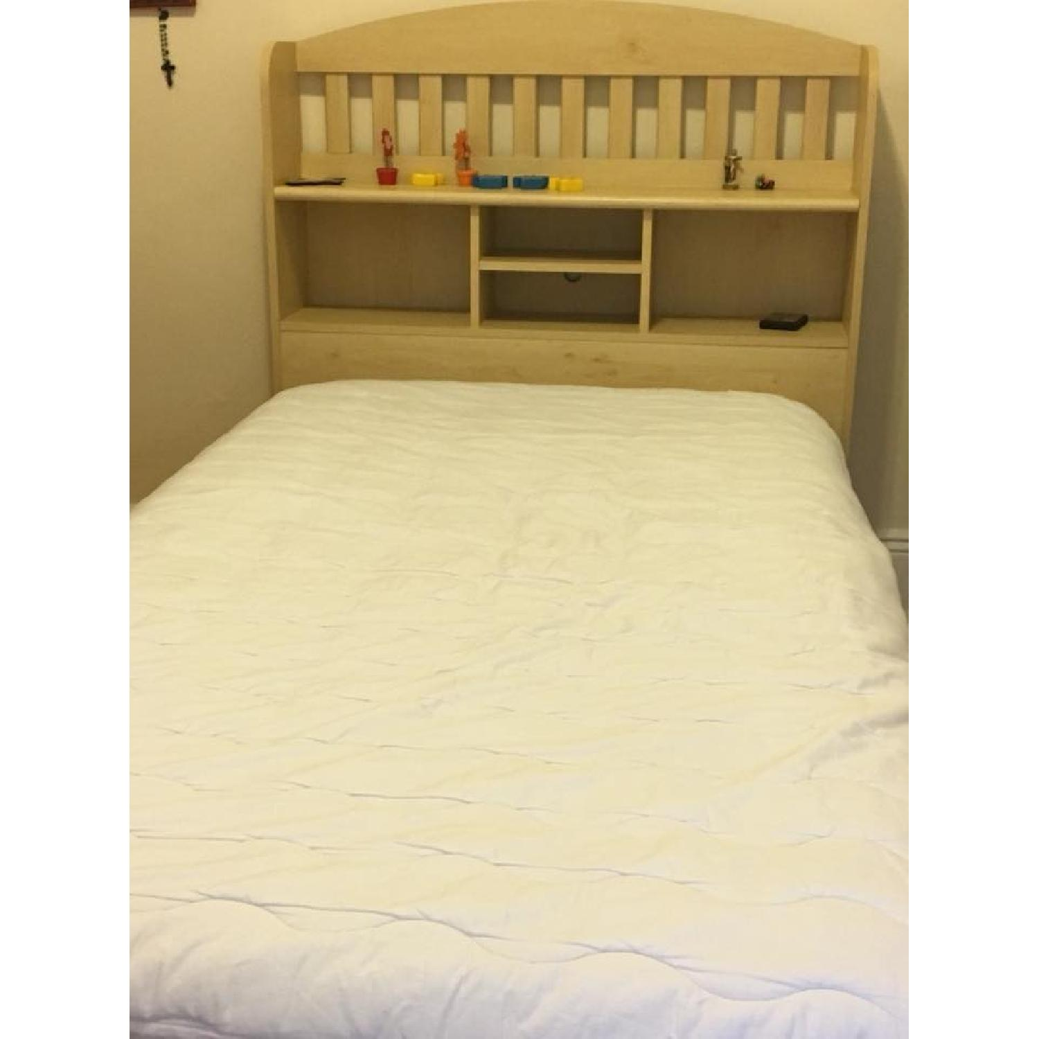 Ikea Twin Storage Bed w/ Storage Headboard - image-3