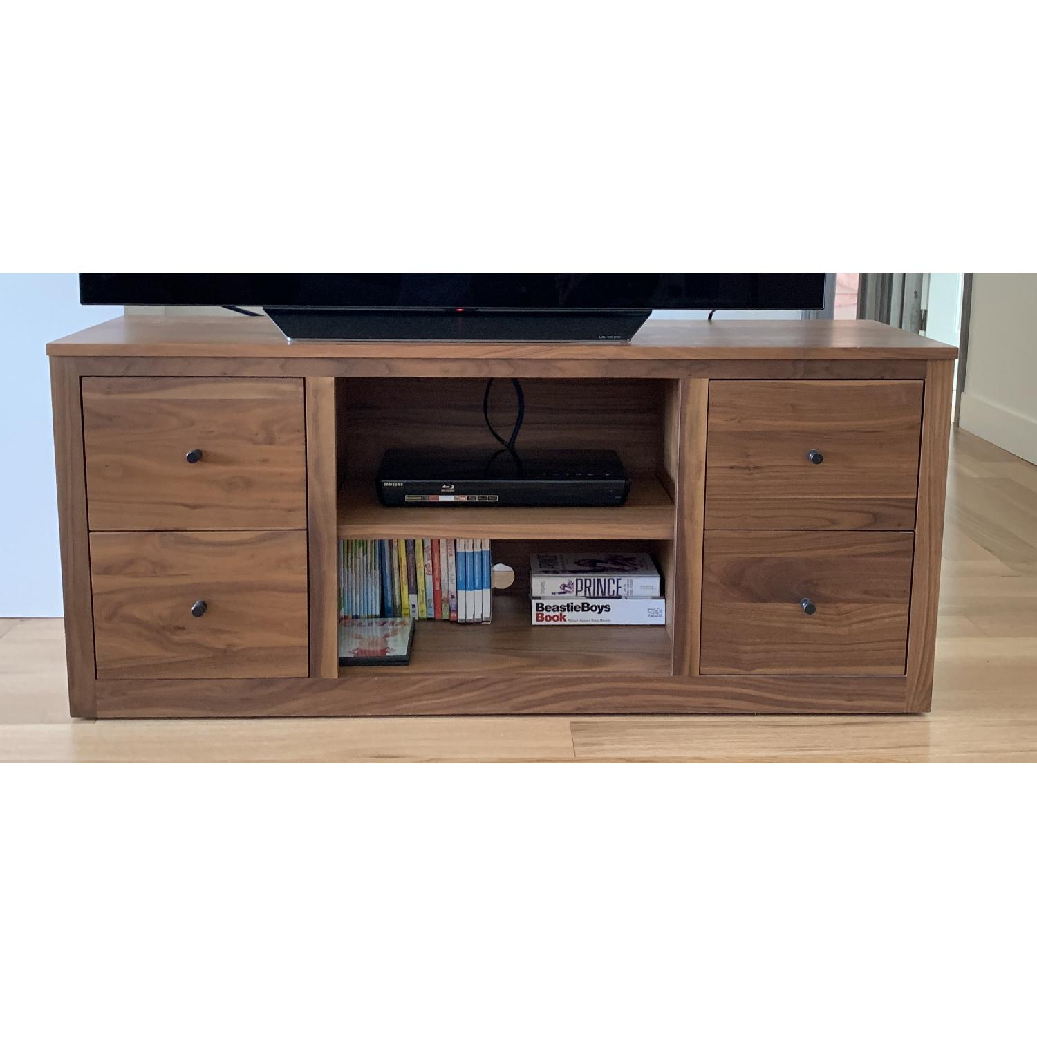 Room & Board Woodwind Media Cabinet in Walnut - image-0