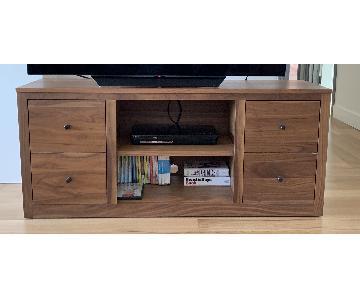Room & Board Woodwind Media Cabinet in Walnut