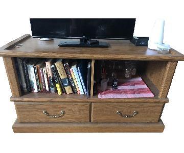 Brown TV Stand/Storage Unit