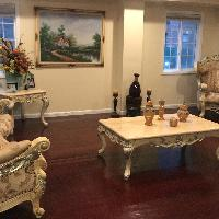 Living room french antique style