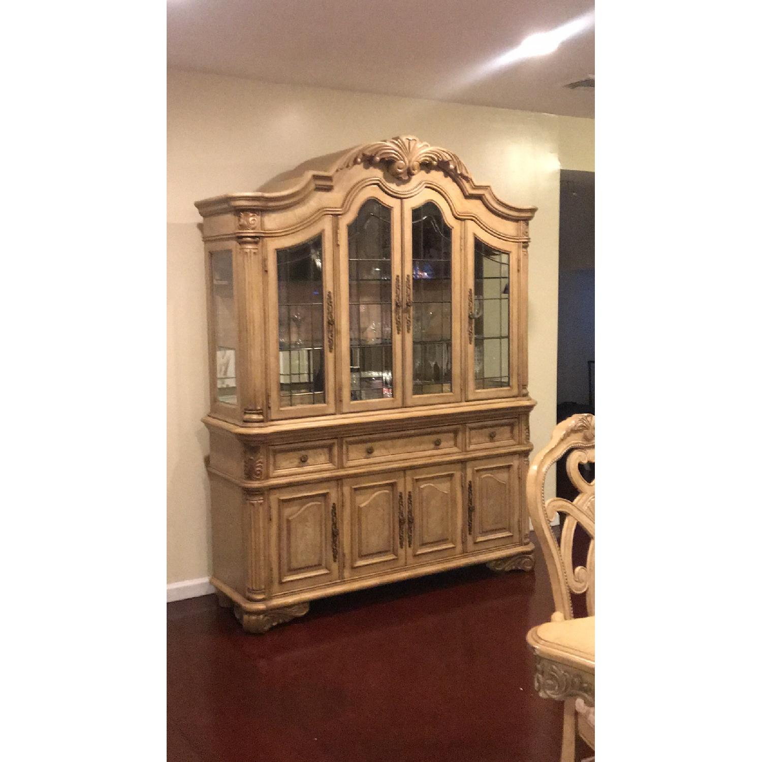 French Style China Cabinet - image-1