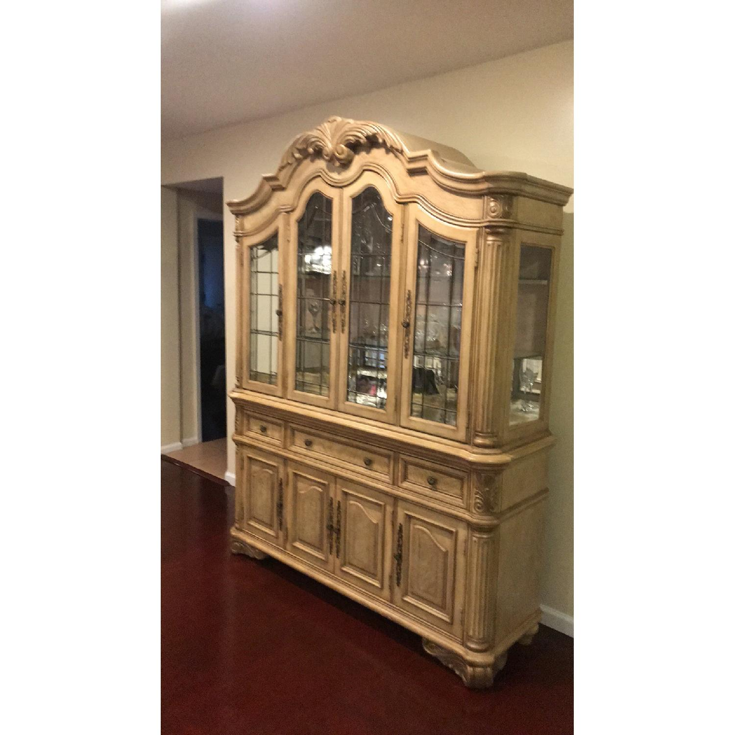 French Style China Cabinet - image-2