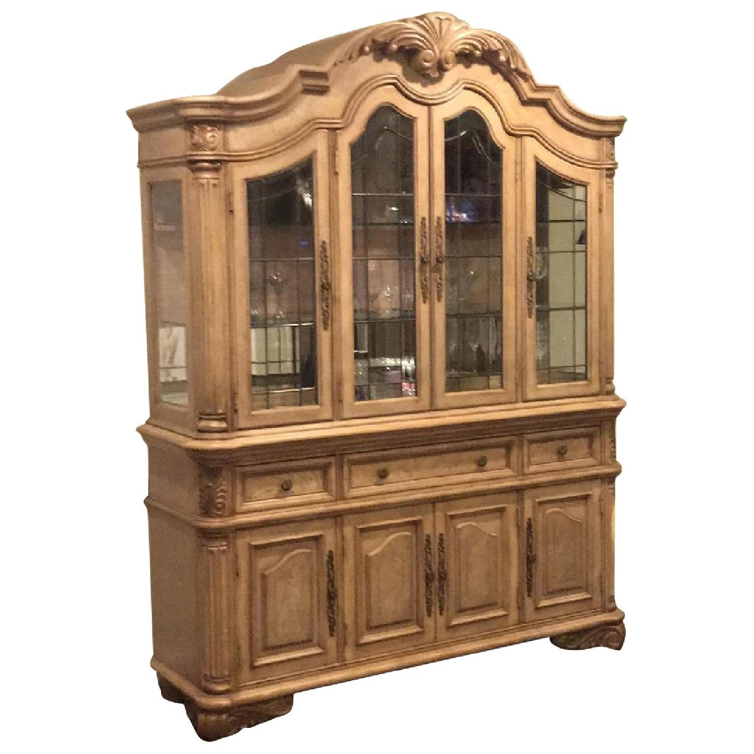 French Style China Cabinet - image-0