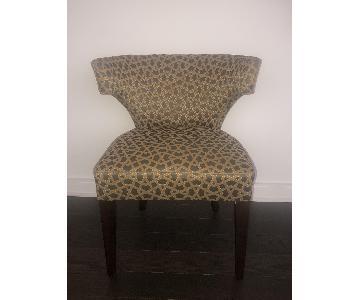 Thomas O'Brien Custom Made Accent Chairs