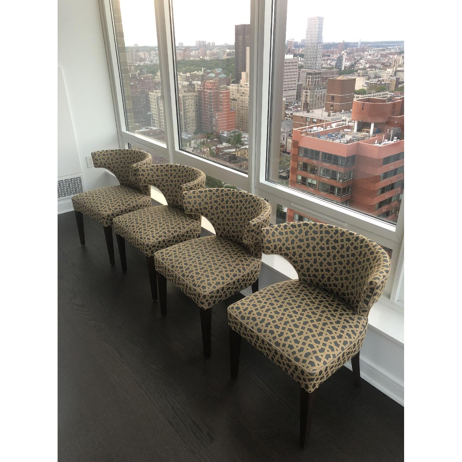Thomas O'Brien Custom Made Accent Chairs - image-0