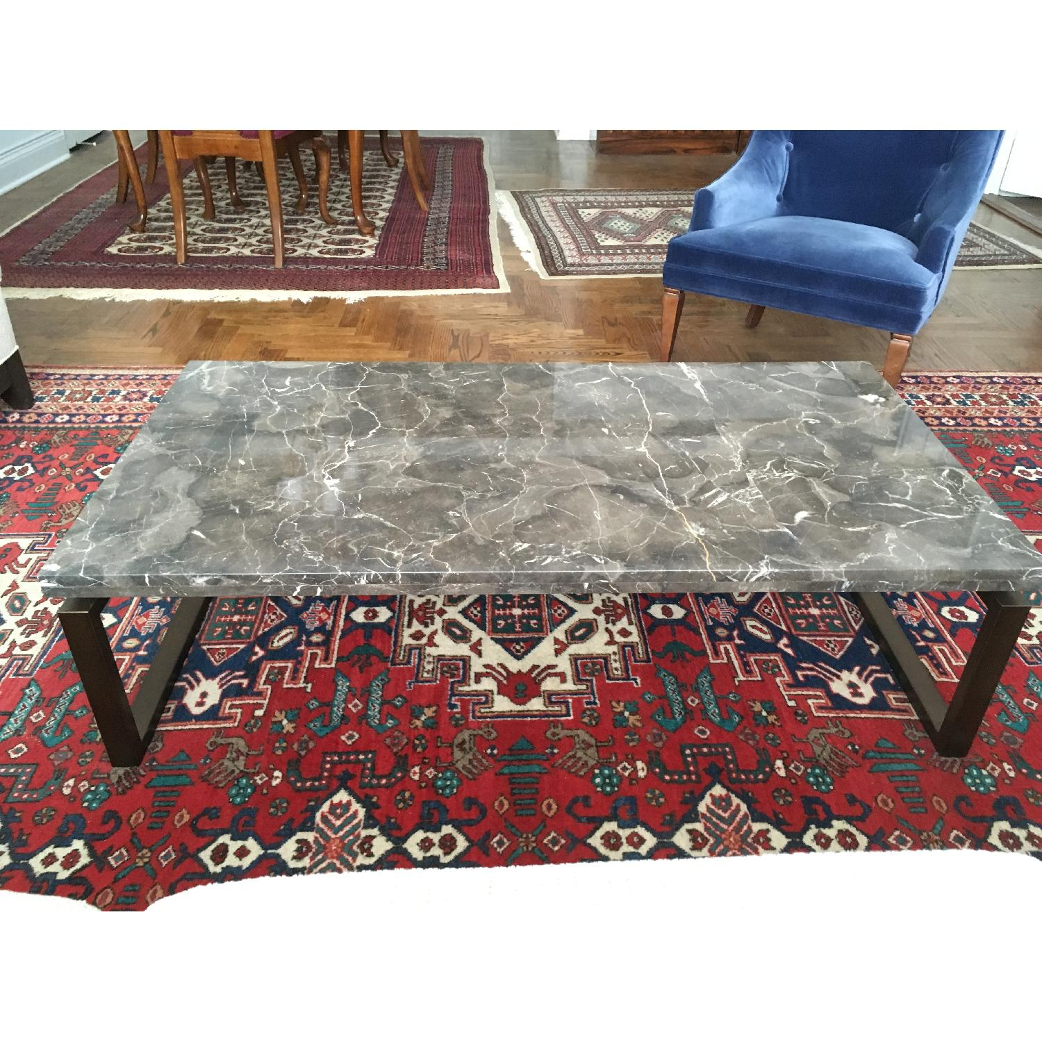 Safavieh Marble Top Cocktail Table - image-1