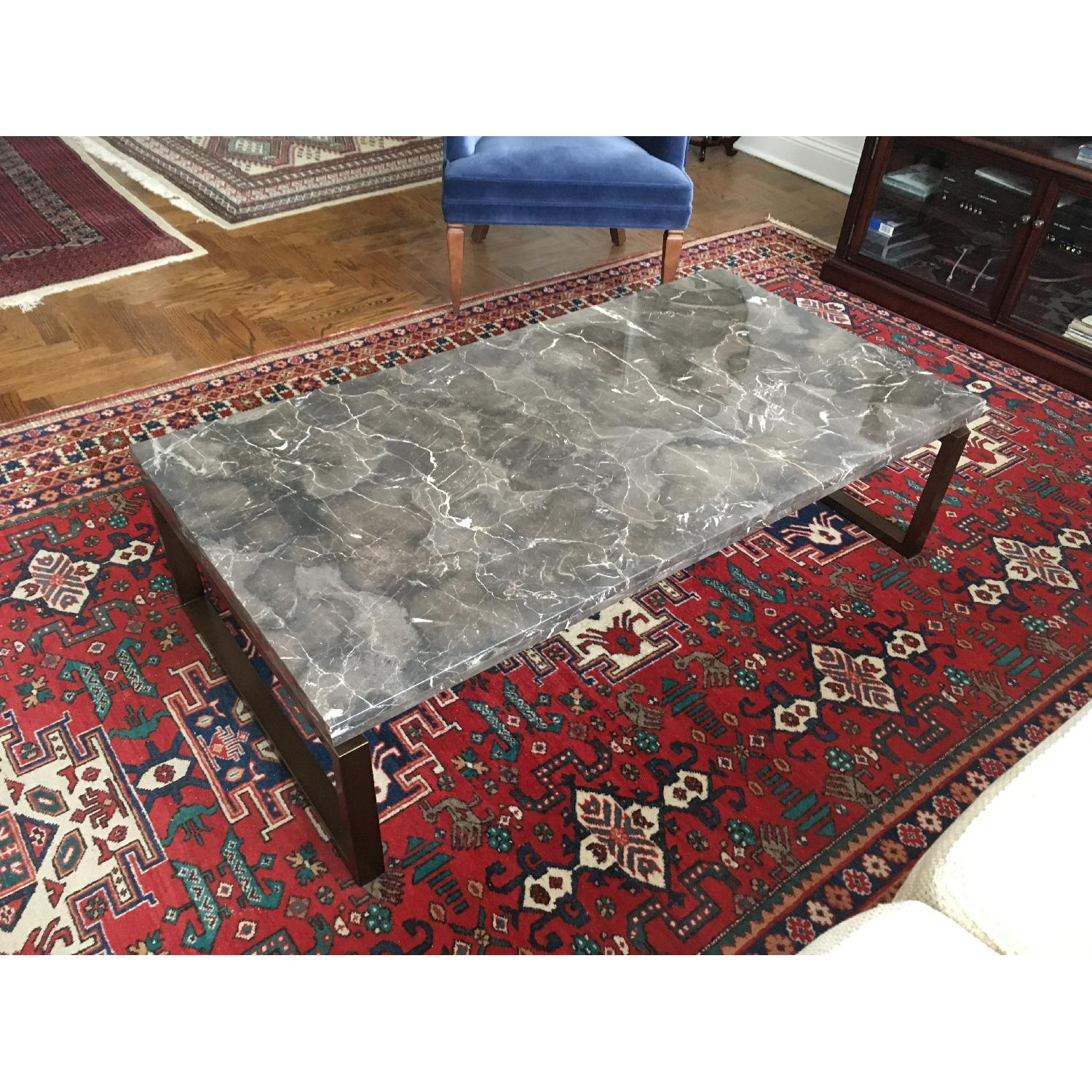 Safavieh Marble Top Cocktail Table - image-2
