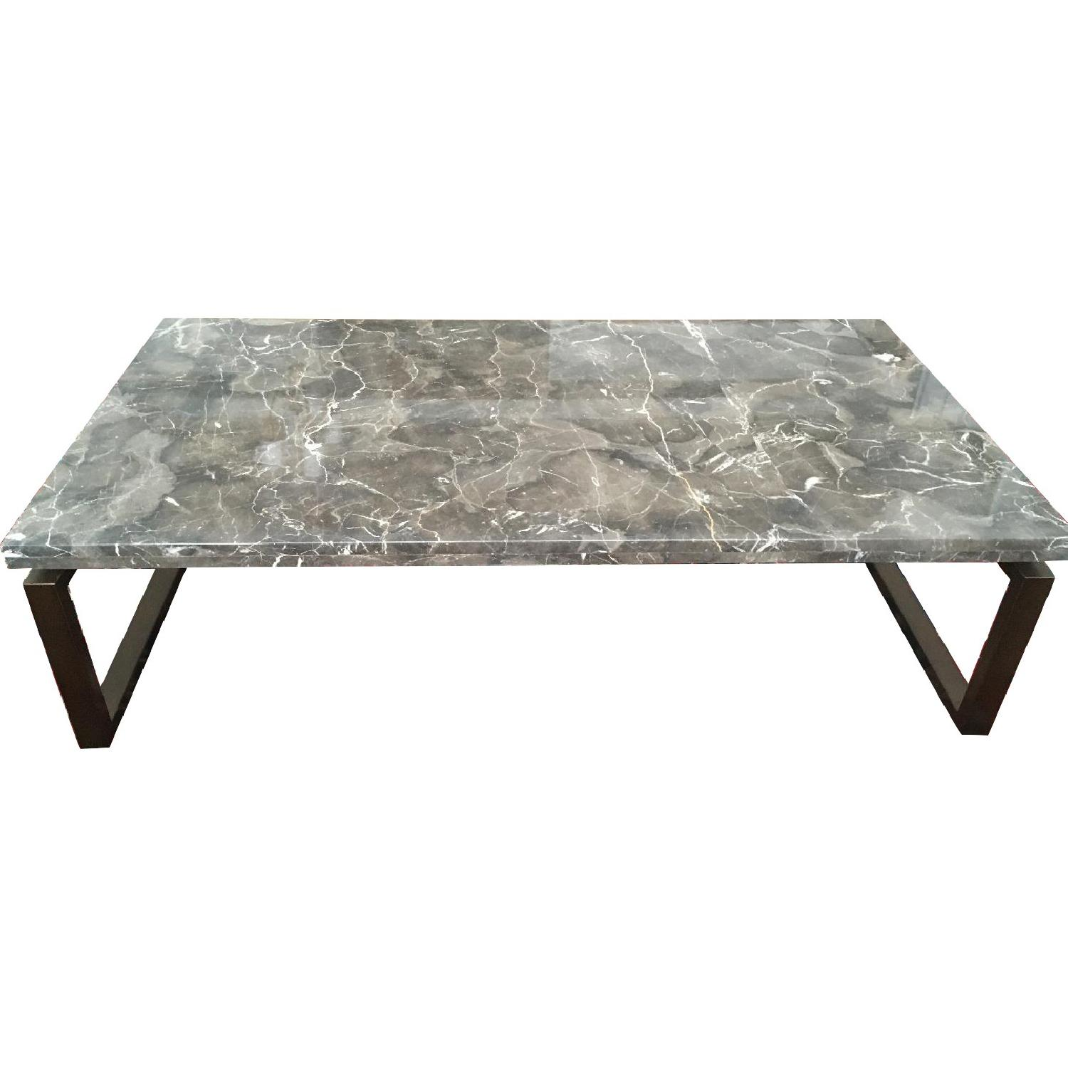 Safavieh Marble Top Cocktail Table - image-0