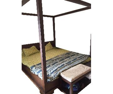 Custom King Size Bali Bed