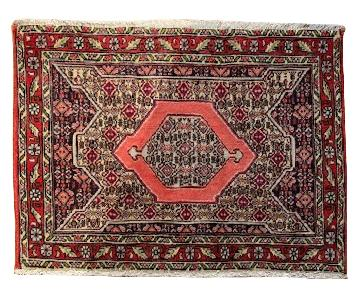 Senneh Small Persian Wool Carpet