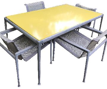 Knoll Richard Schultz 1966 Outdoor 5-Piece Dining Set