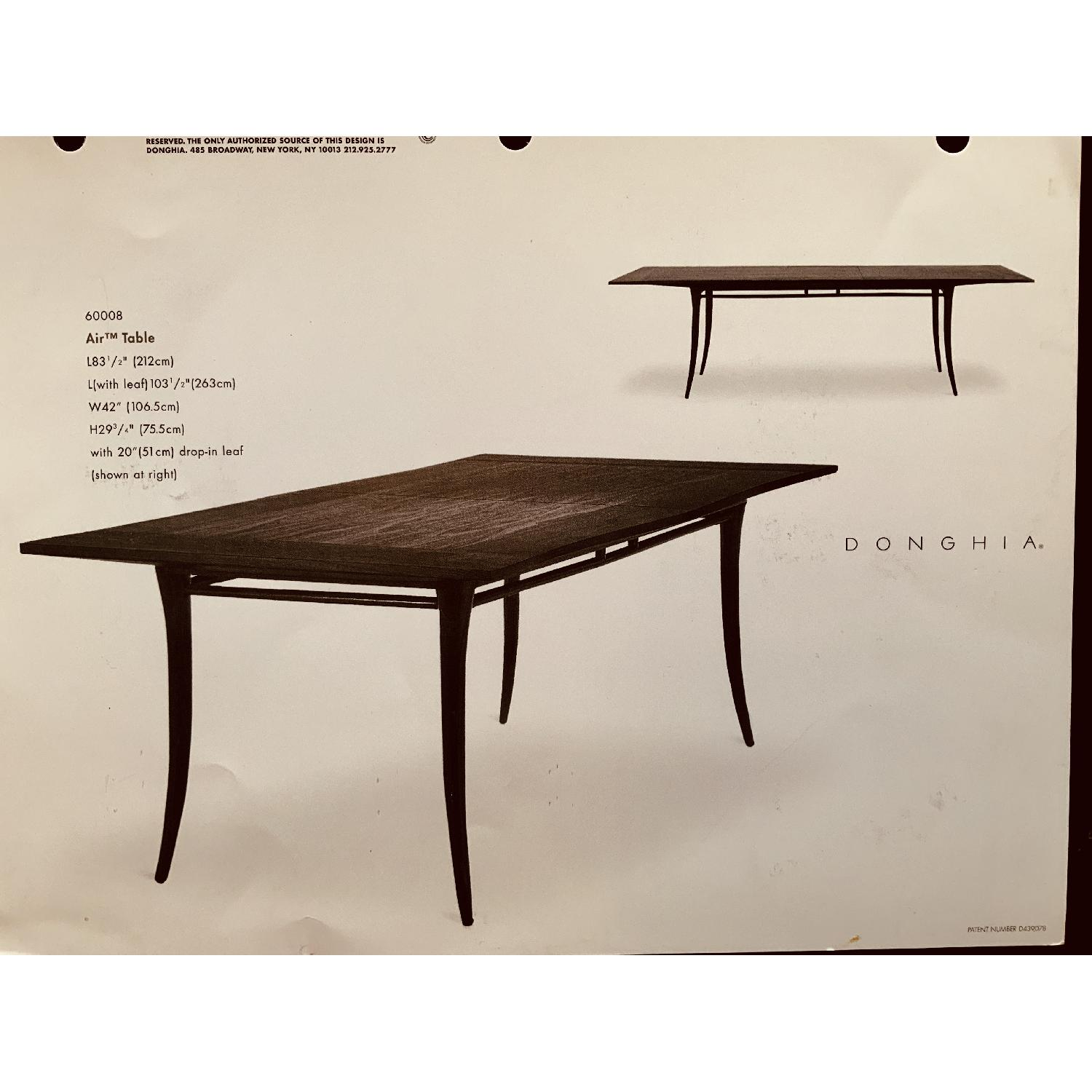 Donghia Air Dining Table w/ Leaf