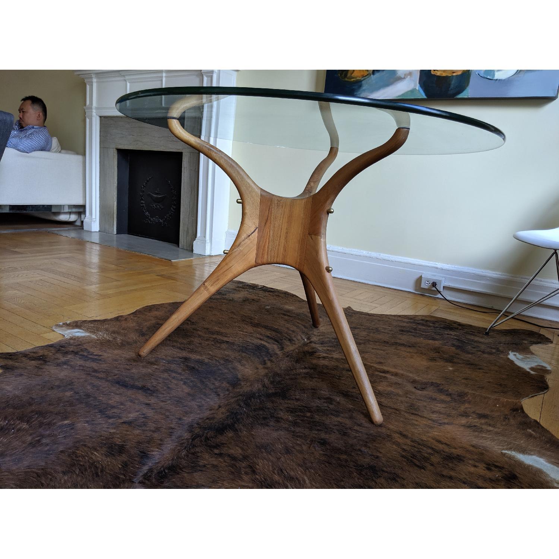 Organic Modernism Mid-Century Round Dining Table - image-3