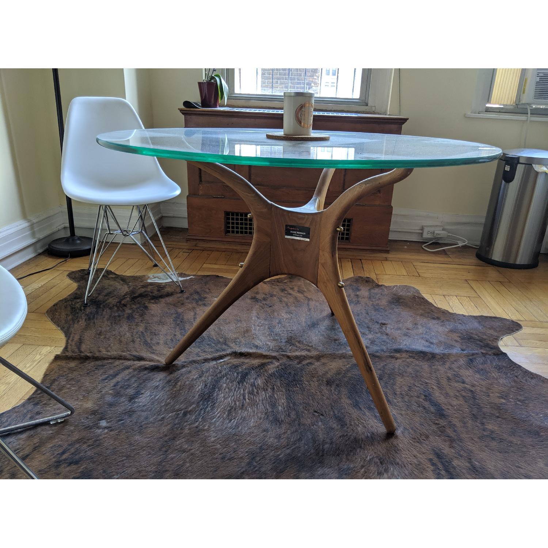 Organic Modernism Mid-Century Round Dining Table - image-4