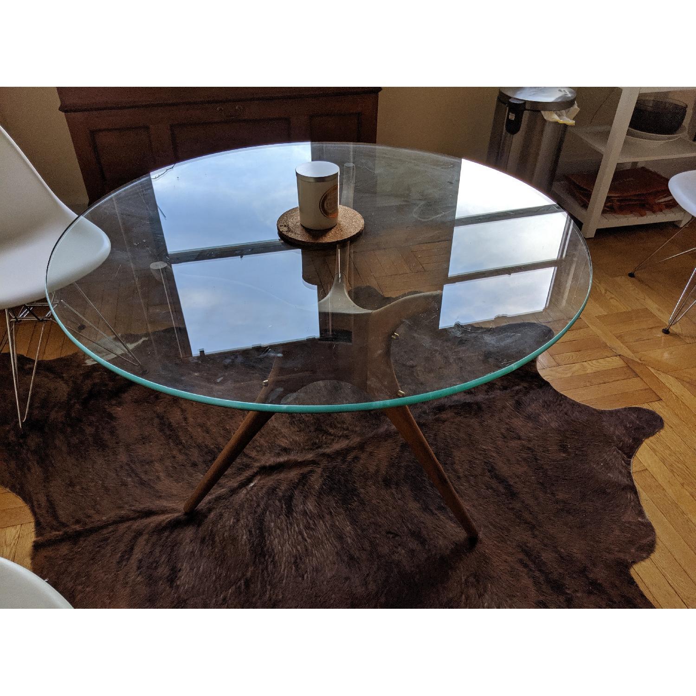 Organic Modernism Mid-Century Round Dining Table - image-5