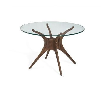 Organic Modernism Mid-Century Round Dining Table