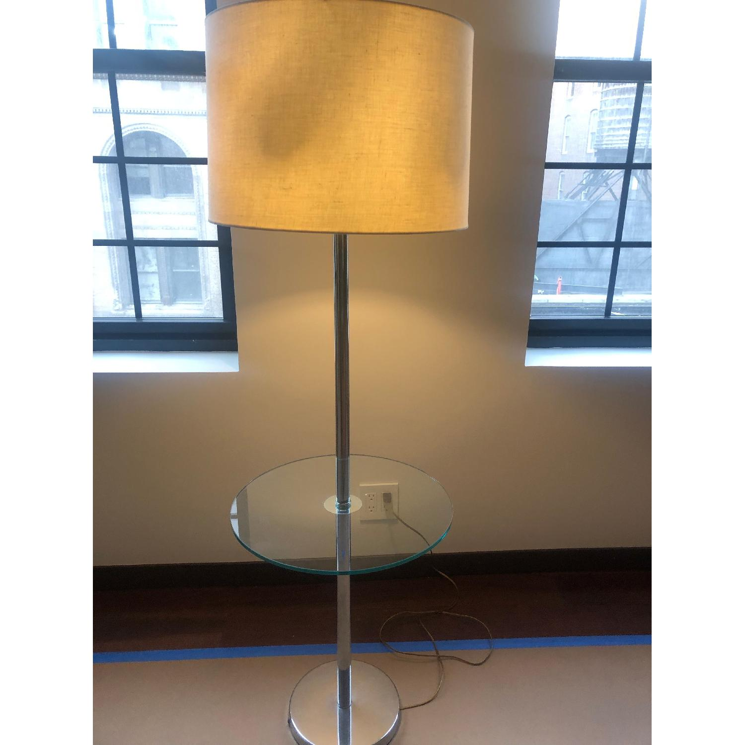 Vintage Tray Table Lamp - image-2