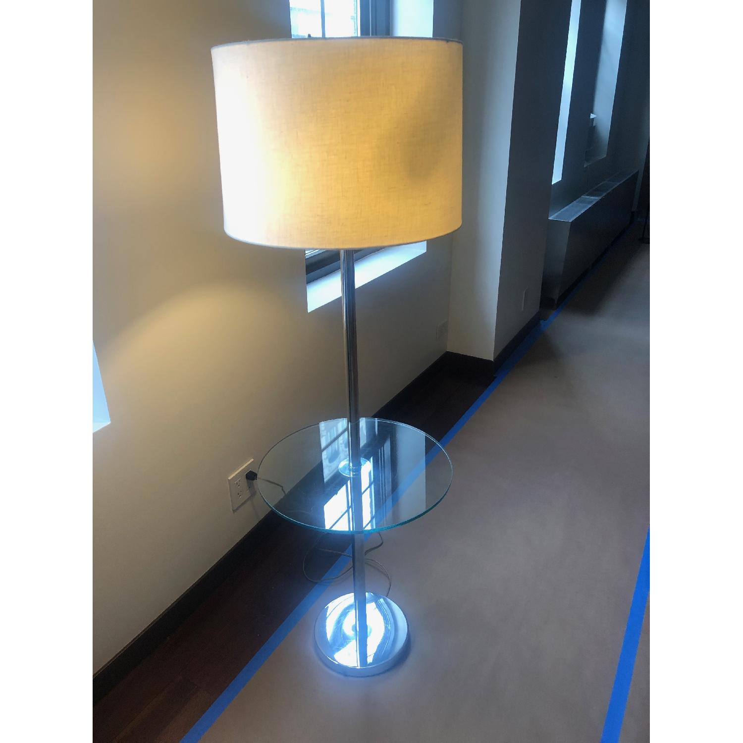 Vintage Tray Table Lamp - image-3