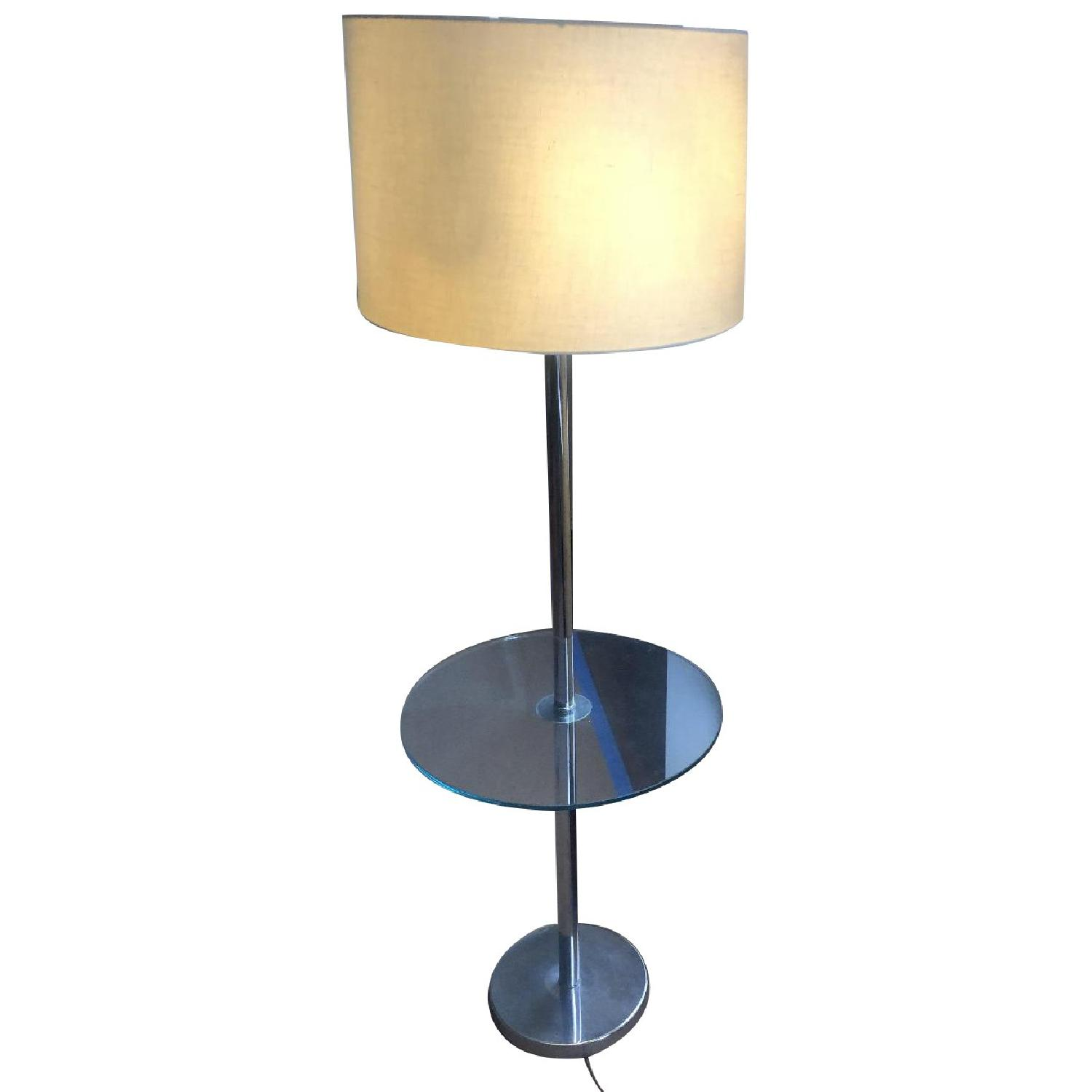 Vintage Tray Table Lamp - image-0