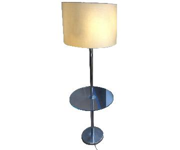 Vintage Tray Table Lamp