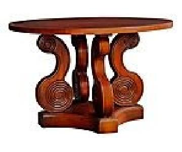 Steven Shell Scroll Farnaby Dining Table