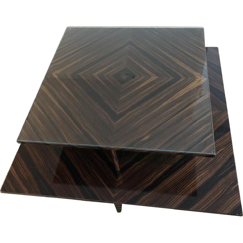 Custom Two-Tier Coffee Table - image-0