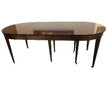 Custom Dining Table w/ 4 Removable Leaves