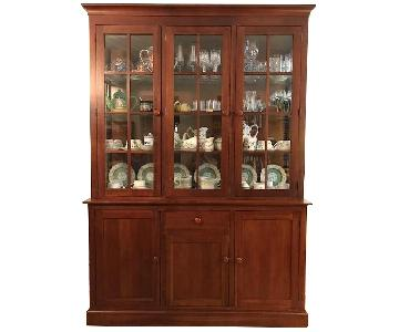 Ethan Allen Mission China Cabinet