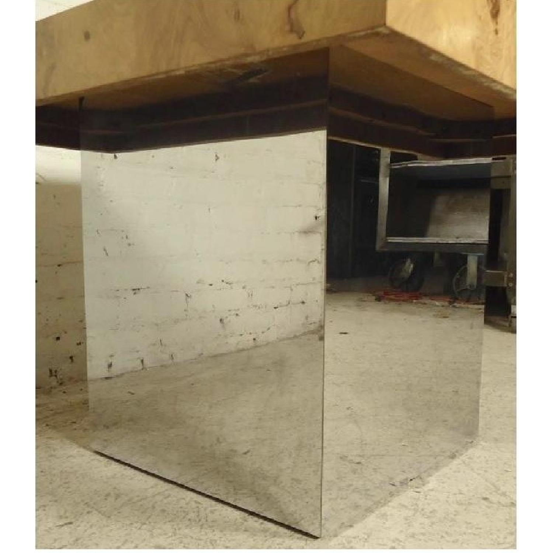 Milo Baughman Burl Patchwork Coffee Table - image-6