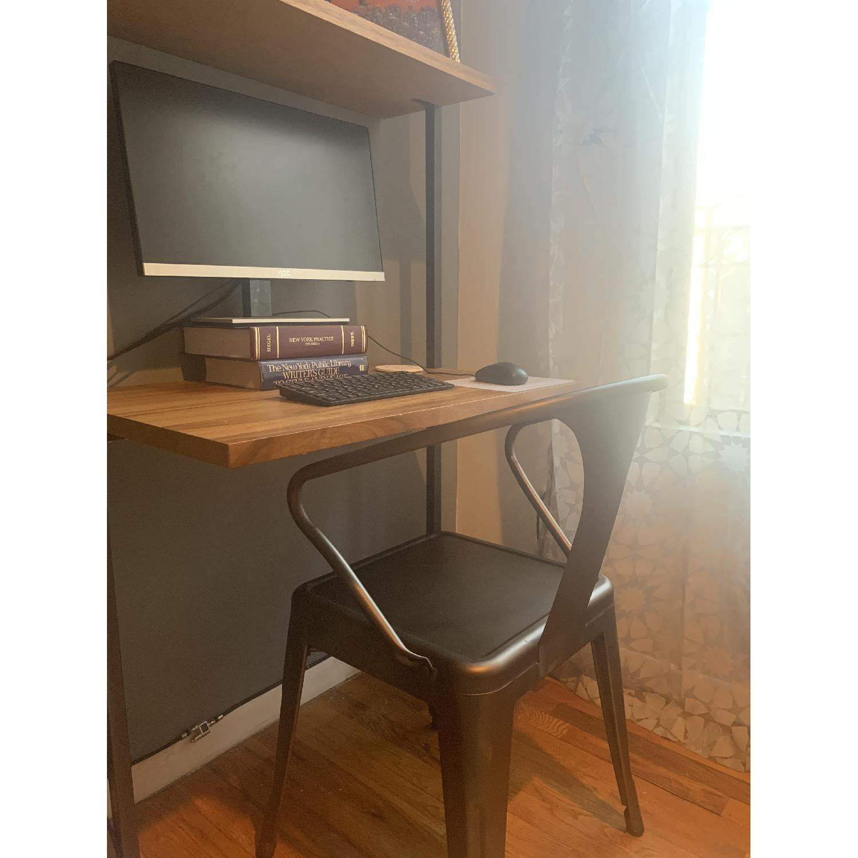 CB2 Helix Acacia Desk - image-5