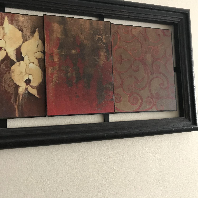 Buddha Orchid Wall Art - image-2