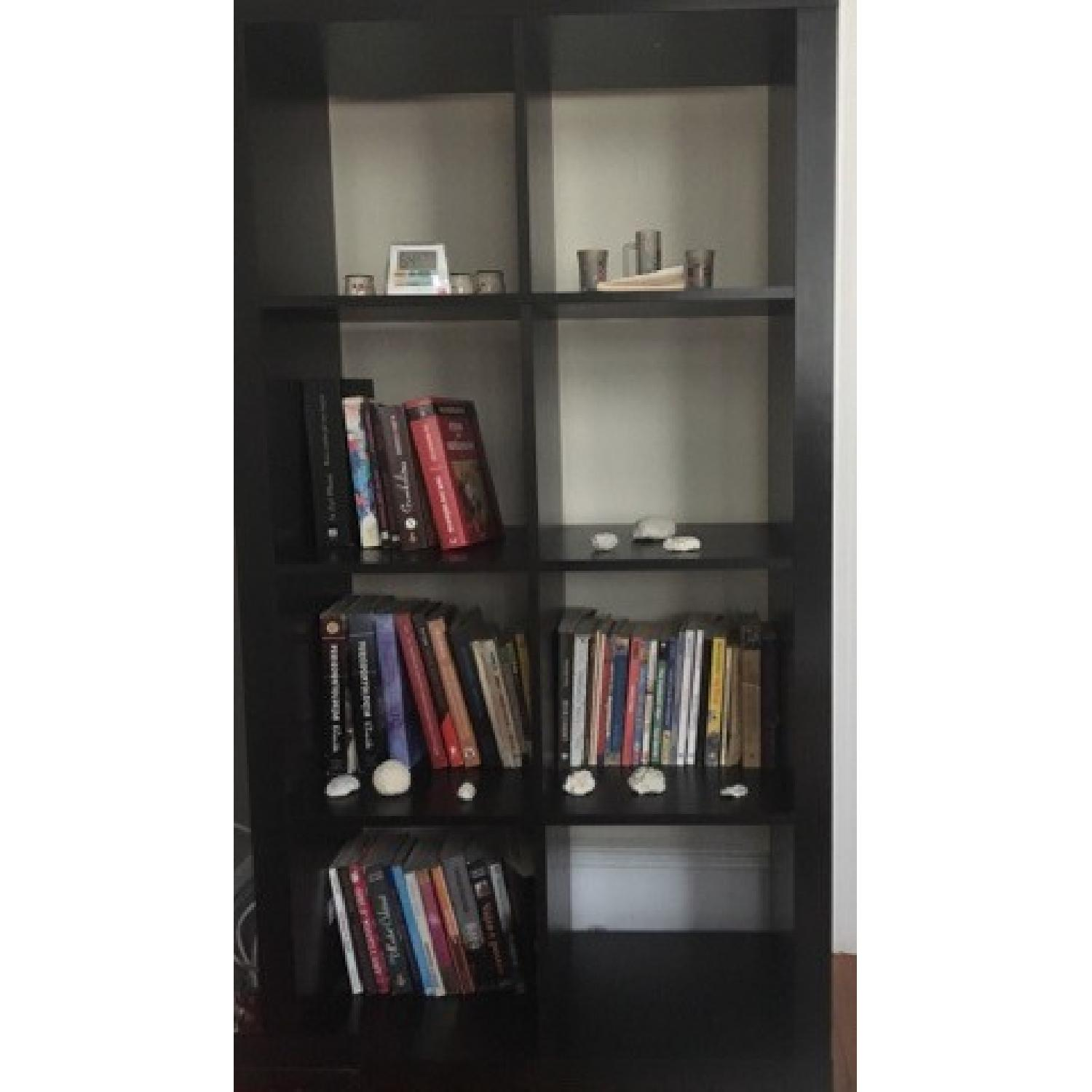 Wood Cubby Bookcase