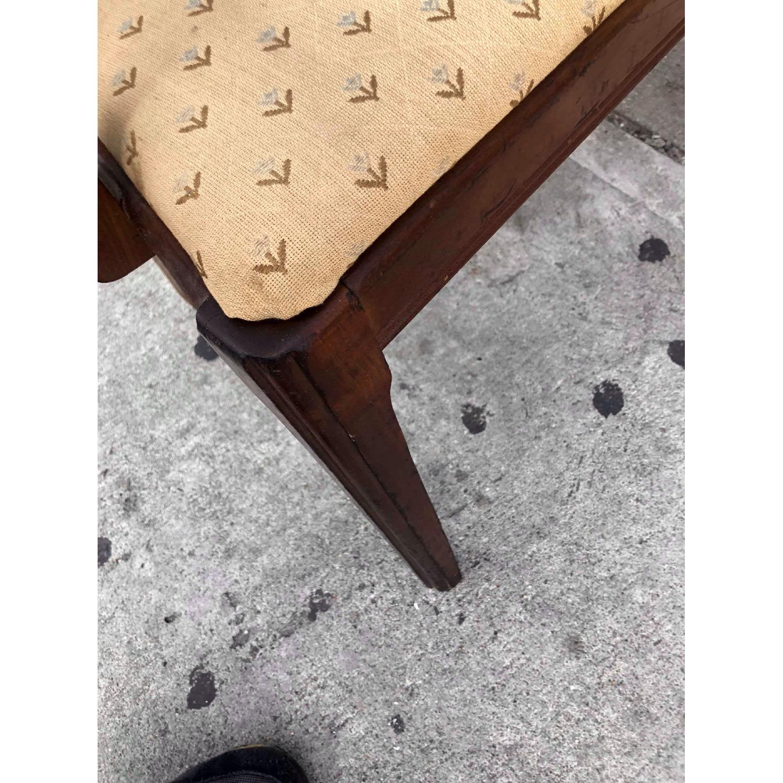 Antique 1920s Mahogany Boudoir Bedroom Chair - image-7