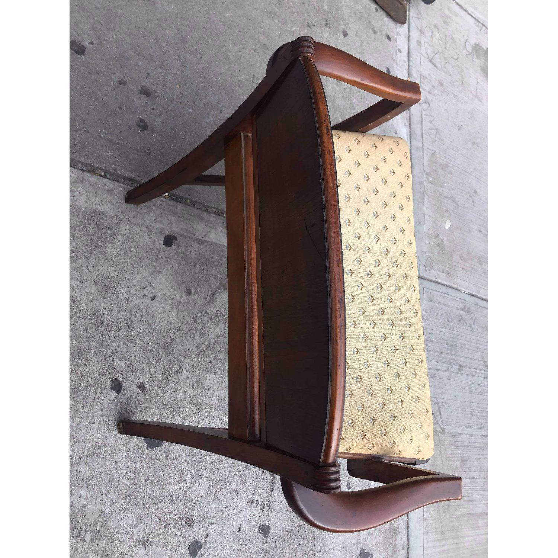 Antique 1920s Mahogany Boudoir Bedroom Chair - image-9