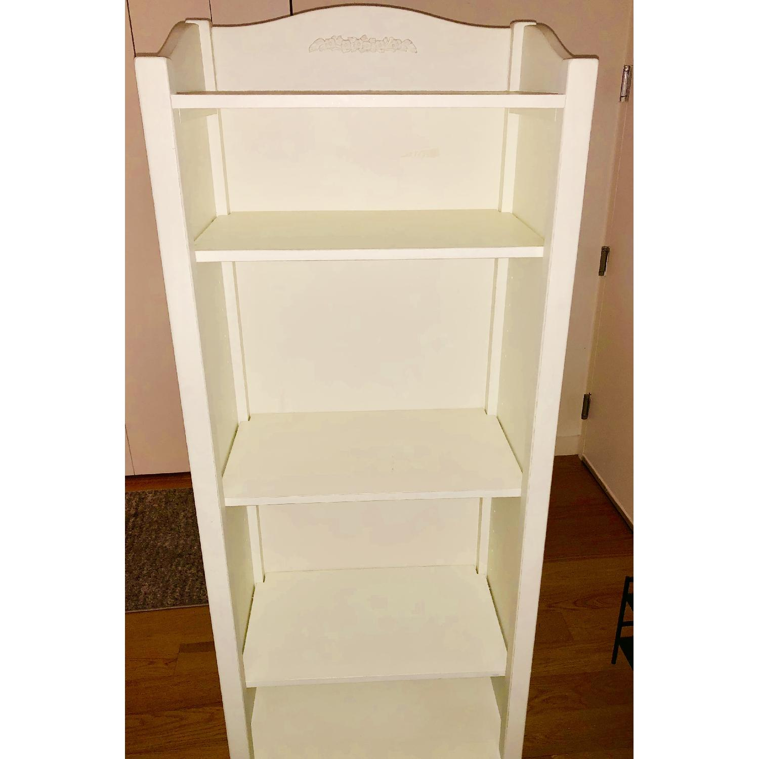 Pottery Barn PB Teen Chelsea White Tower Bookcase - image-4