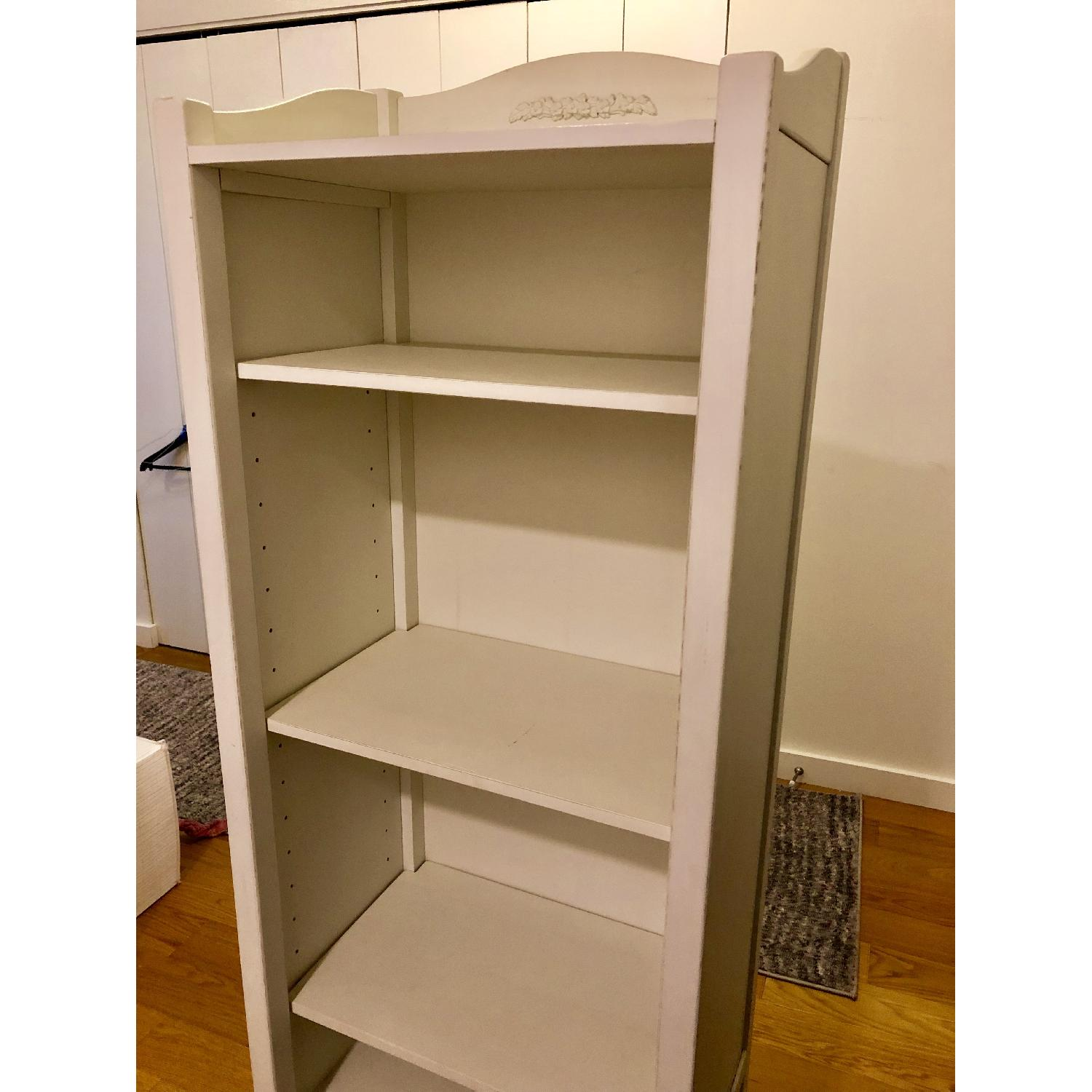 Pottery Barn PB Teen Chelsea White Tower Bookcase - image-6