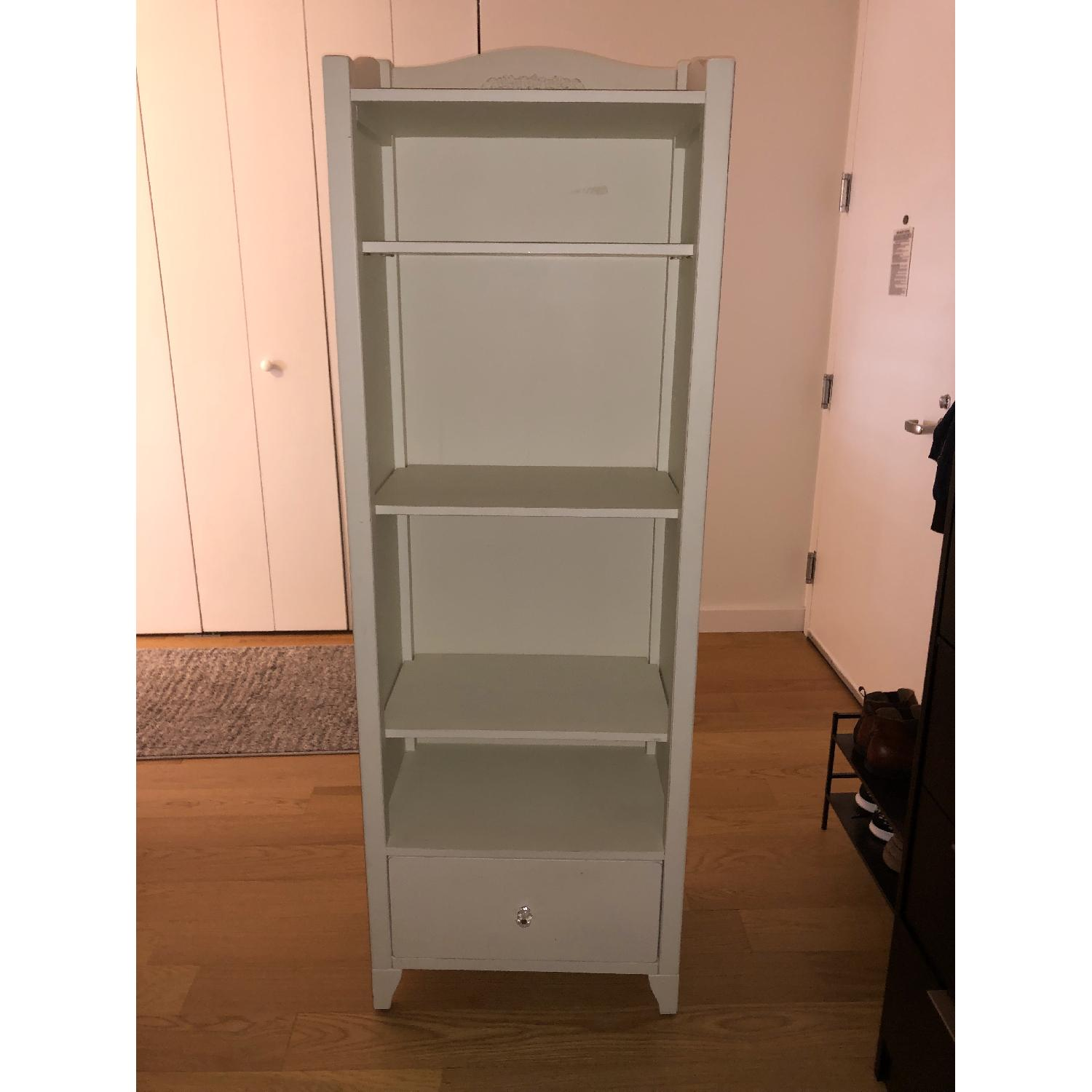 Pottery Barn PB Teen Chelsea White Tower Bookcase - image-7