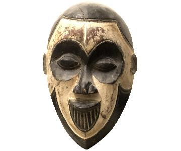 Hand Carved African Face Mask
