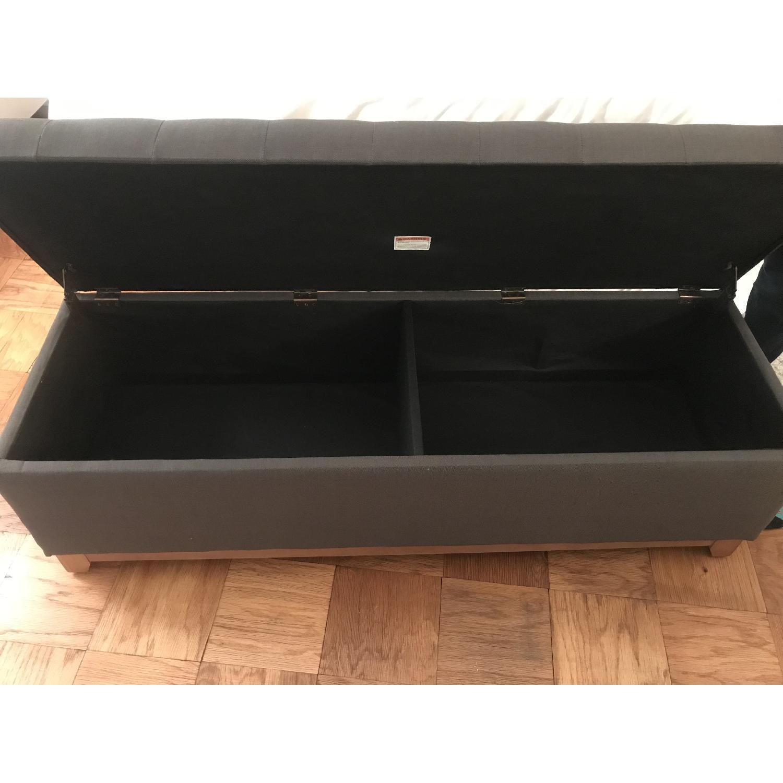 Grey Storage Ottoman-4
