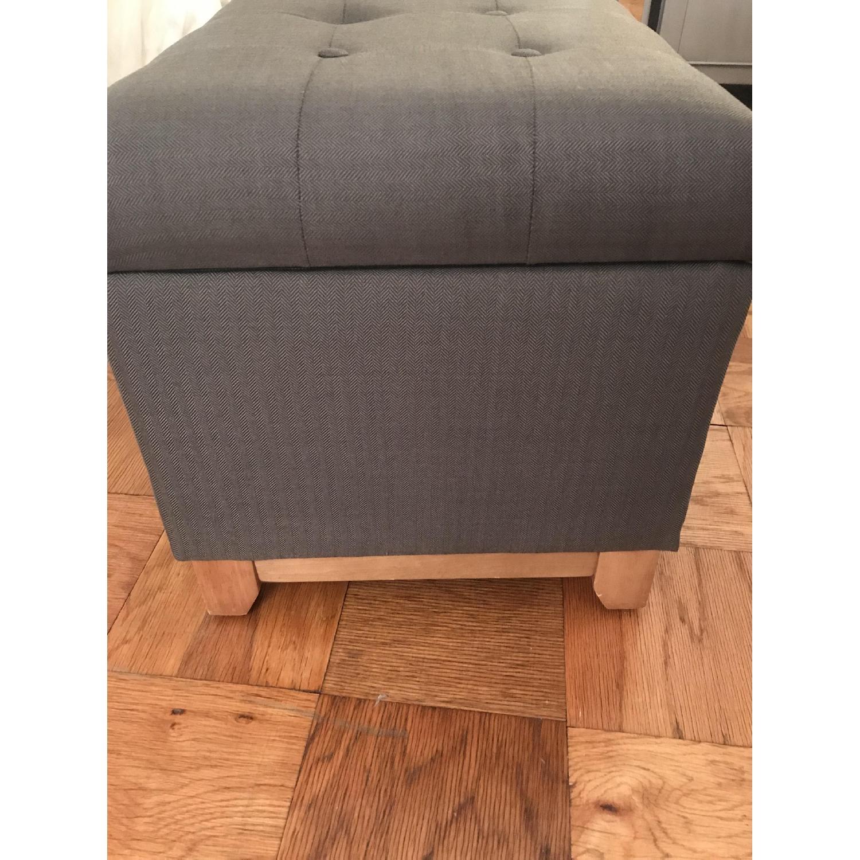 Grey Storage Ottoman-7