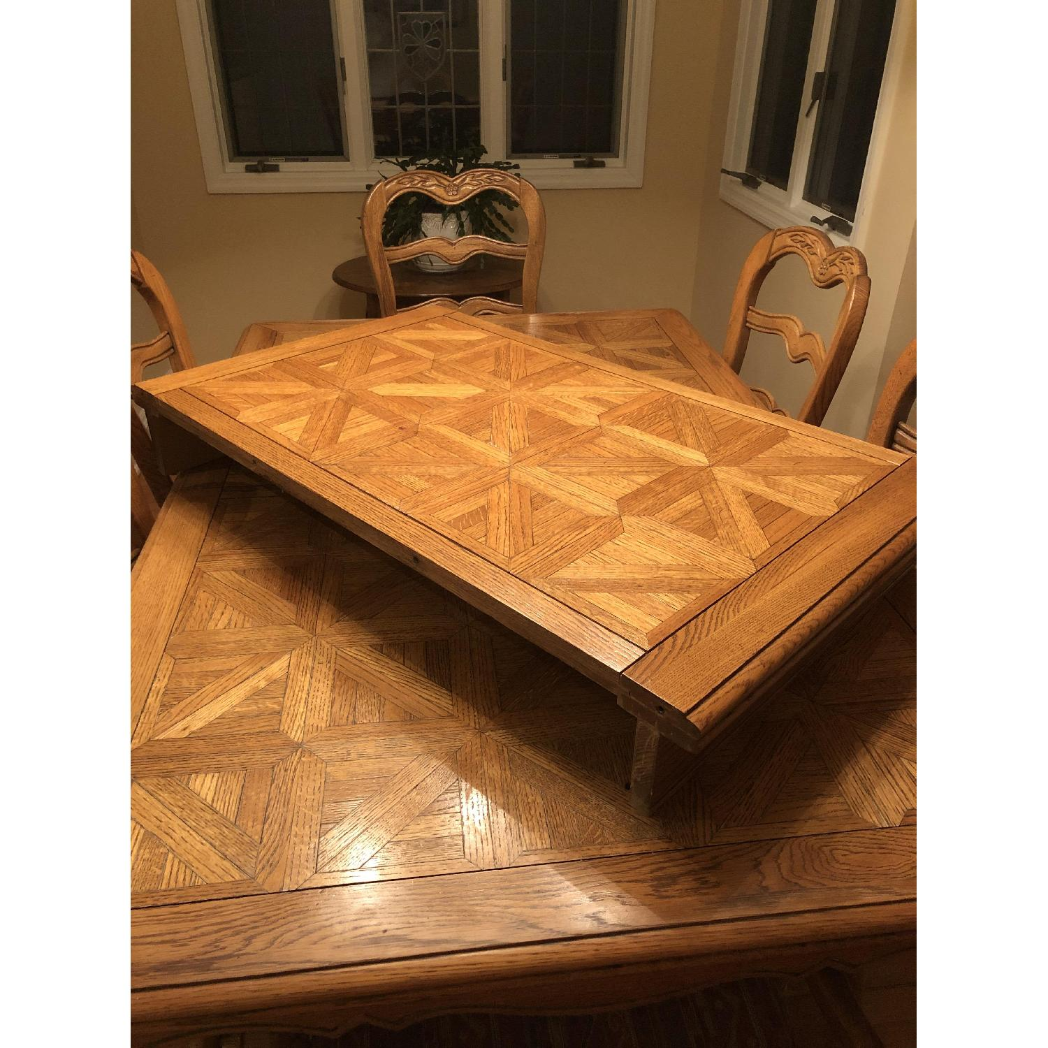 Provence Expandable Dining Table w/ 8 Chairs - image-2