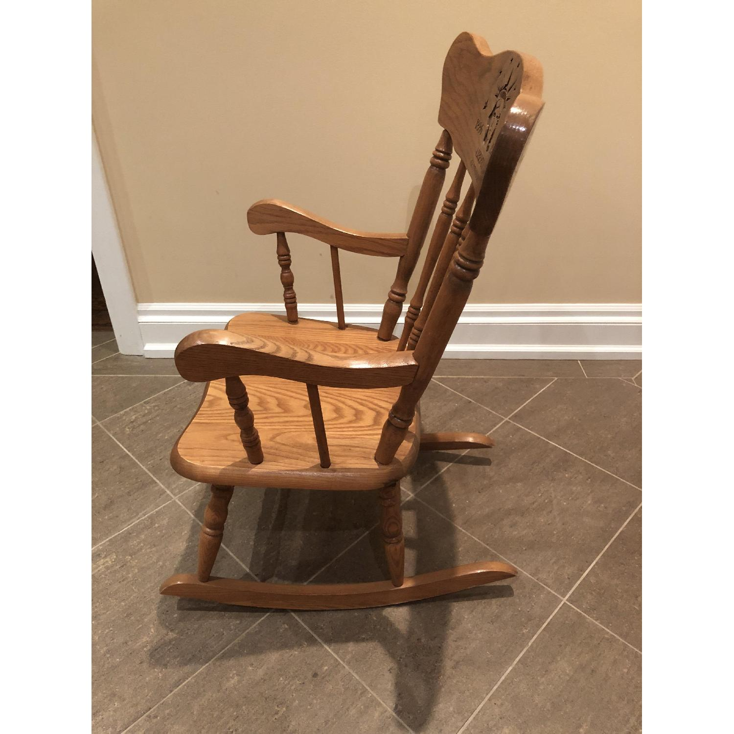 Hedstrom Childs Wooden Rocking Chair - image-1