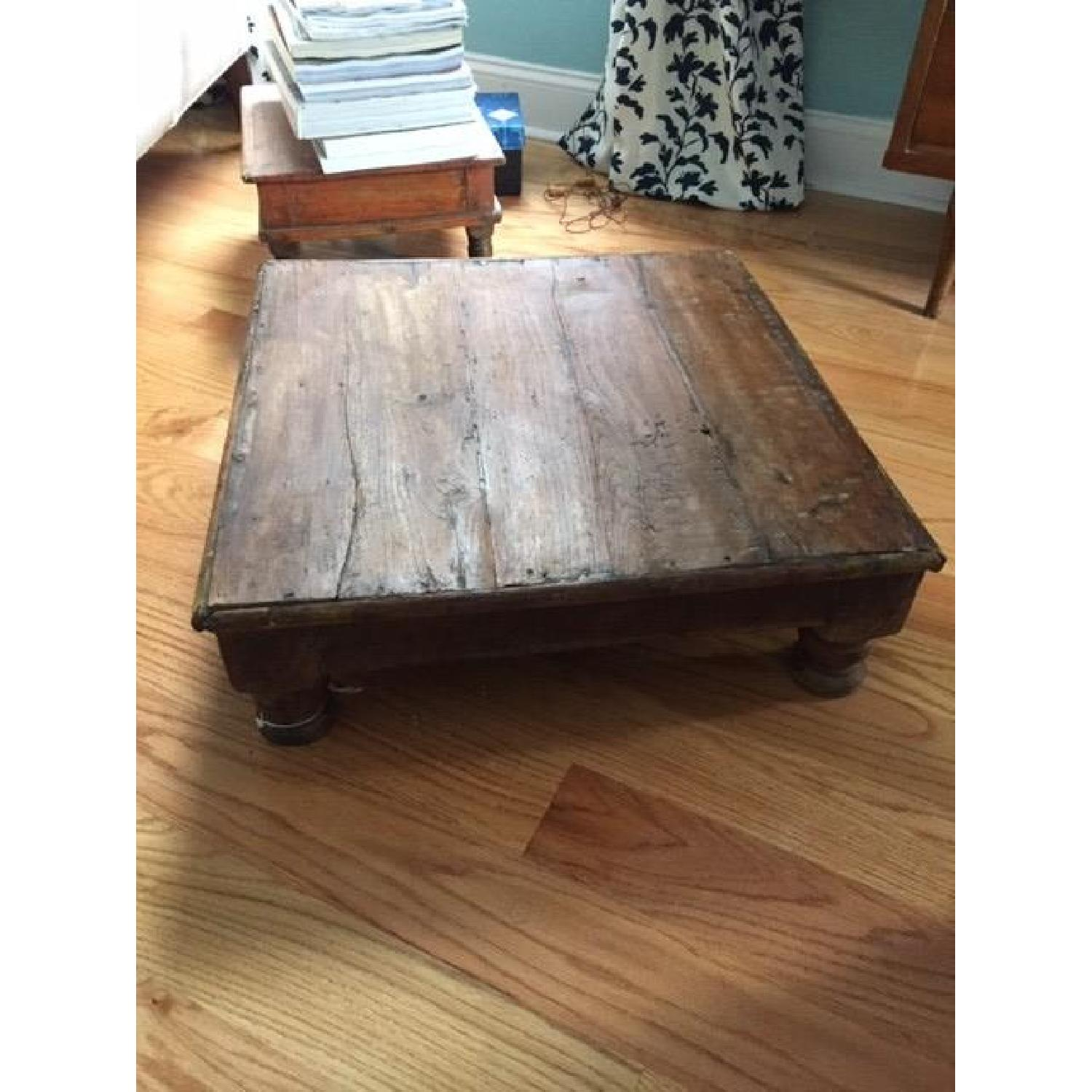 Vintage Indian Tea Table-0