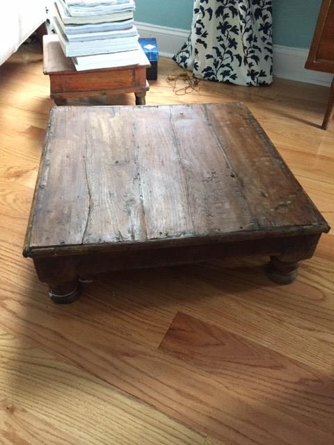 Vintage Indian Tea Table