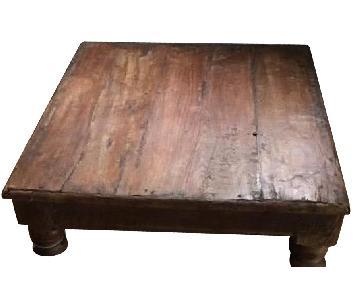 Vintage Indian Tea Table