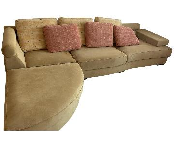 Roche Bobois 3-Piece Sectional Sofa