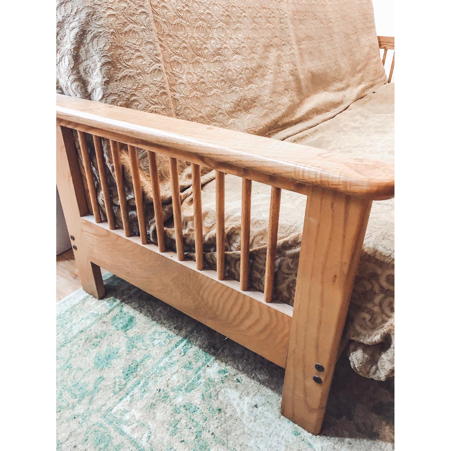 Wooden Queen Size Futon-1