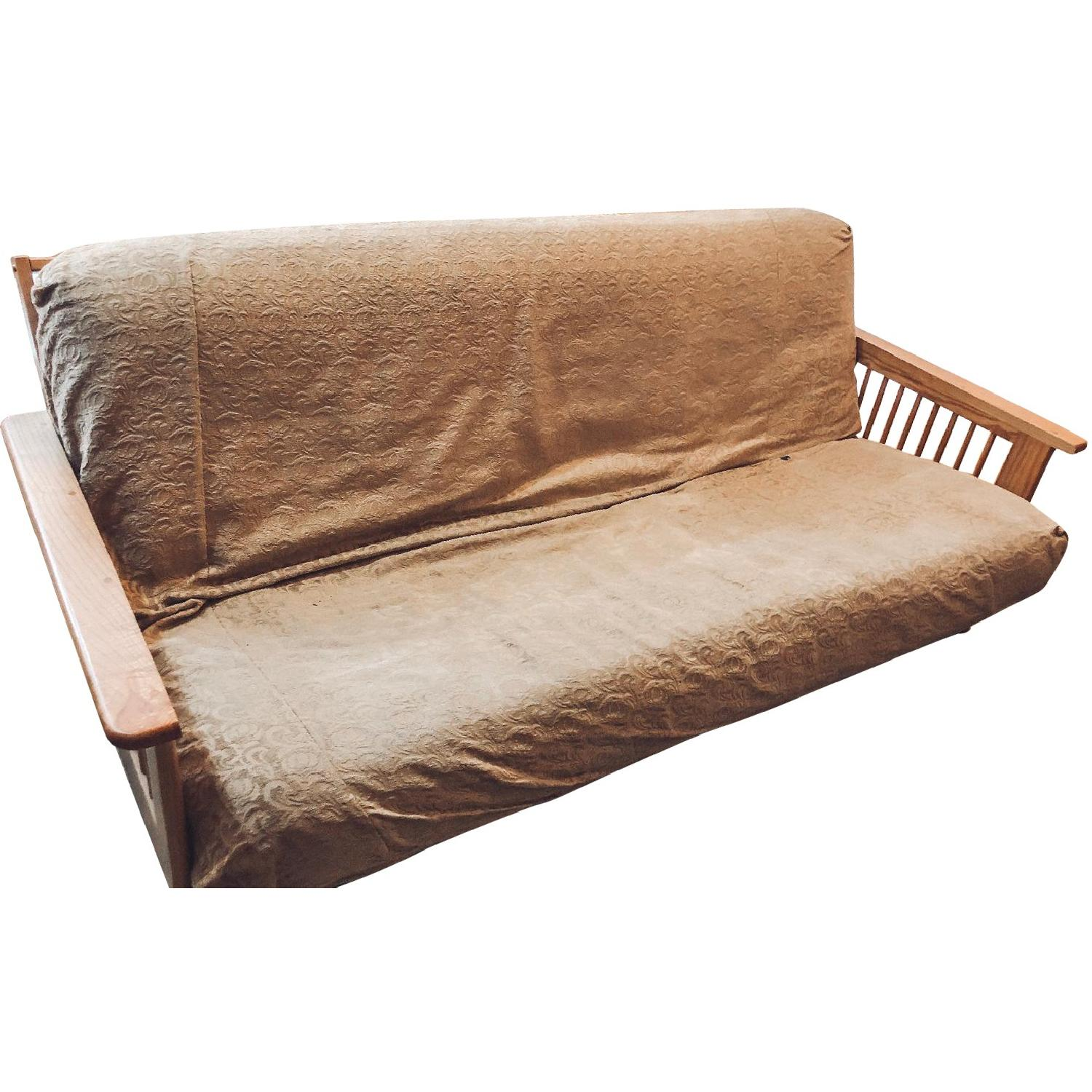 Wooden Queen Size Futon